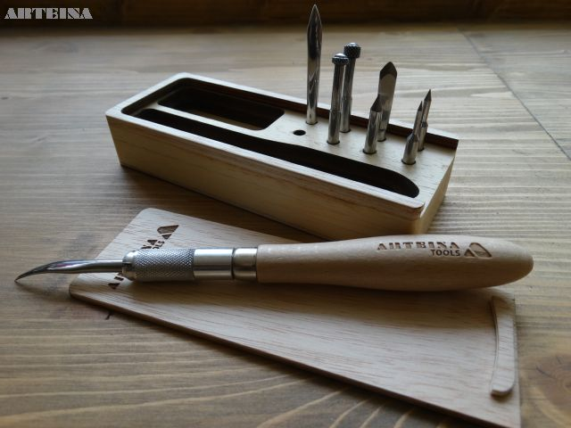 Arteina - herramienta multiple de grabado