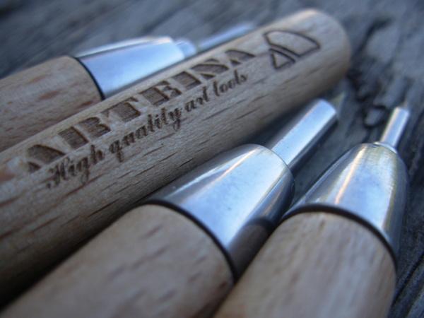 Venta de herramientas para manualidades y bellas artes. Puntas de grabado