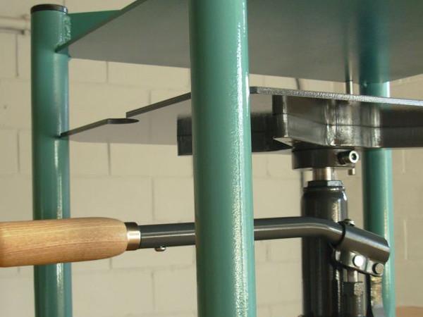 Prensa hidráulica para obra gráfica, grabado e impresión